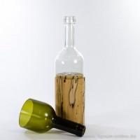 WeinLICHT Kastanie + Glas