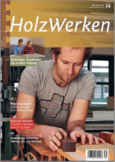 Titelbild Holzwerken Ausgabe 34 Jahr 2012