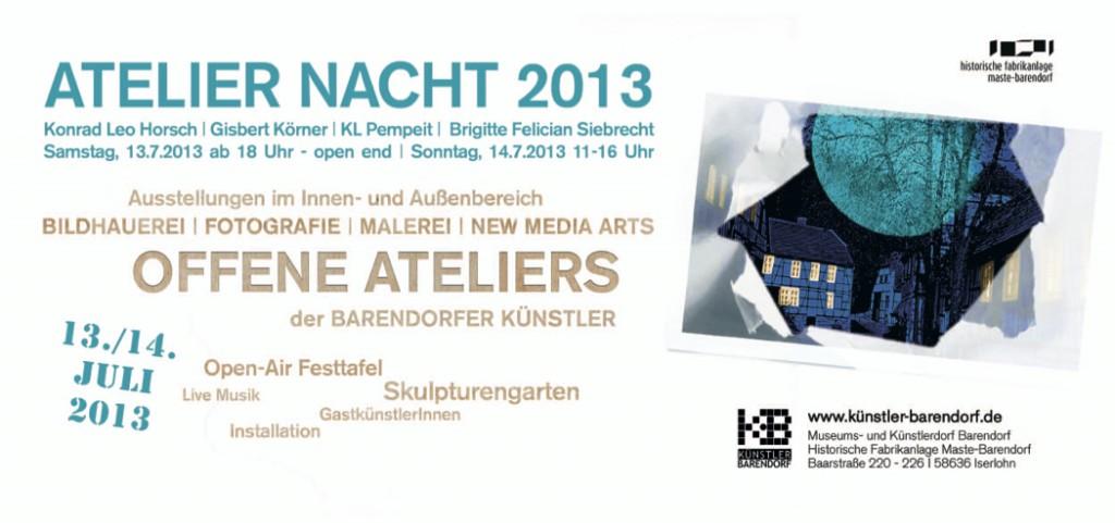 Ateliernacht 2013