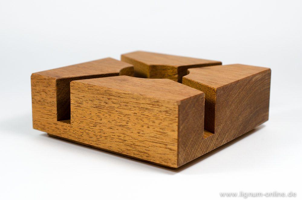 Stövchen Holzsorte Mahagoni