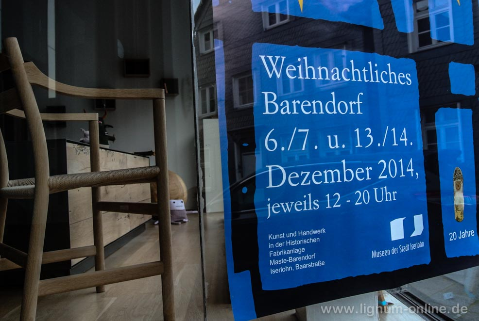 Weihnachtsmarkt Barendorf Plakat
