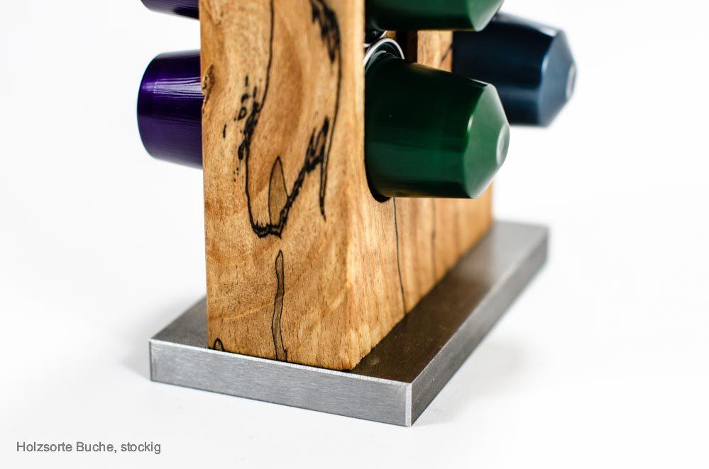 Kapselhalter Holzsorte Trüffelbuche